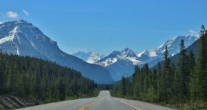 Icefields Parkway Columbia Icefield